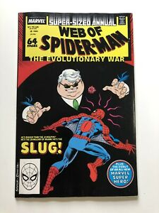 Web-Of-Spider-Man-Annual-4-1988-Marvel-Vintage-High-Grade