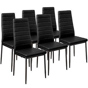 6x Sillas de comedor Juego elegantes sillas de diseño modernas ...