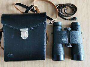 Vintage Leitz Wetzlar Leica Trinovid 10x40 Binoculars Germany