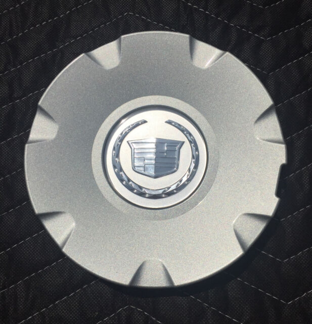 Set Of 4 2004 2010 Cadillac CTS STS OEM Center Caps P