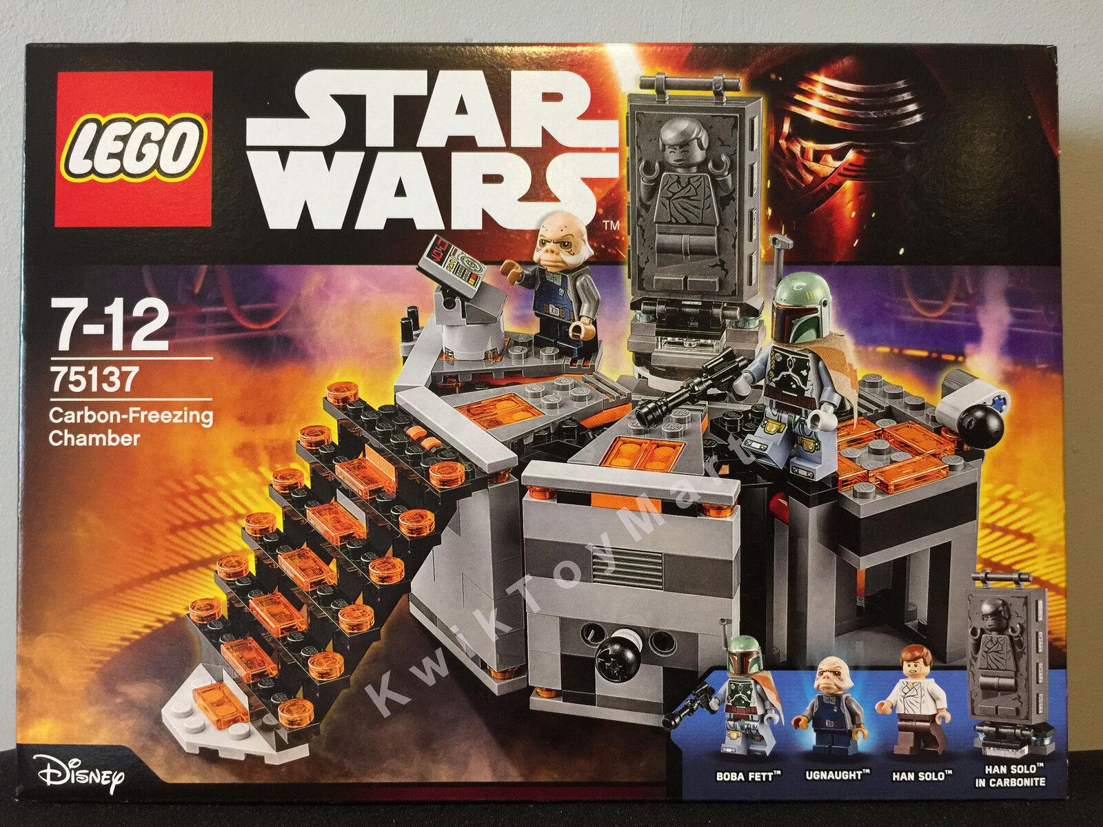 LEGO Star Wars Carbon-Freezing Chamber  75137 Mini Figure Boba Fett Han Solo