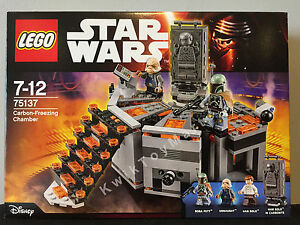 Lego Star Wars Carbon Freezing Chamber 75137 Mini Figure Boba Fett