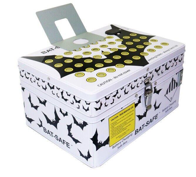 Bat-Safe Lipo Batería Seguro Resistente al Fuego carga Caja De Almacenamiento