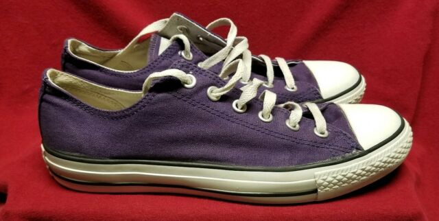 Converse Chuck Taylor All Star Purple Canvas Shoes US Men's Size 8 Women's 10