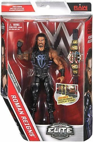 WWE SERIE ELITE 51 REGNI ROMANI STATI UNITI CINTURA wrestling action figure