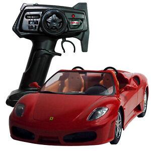 Rc Ferrari F430 Spider, télécommande pistolet 2 canaux