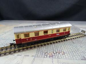 Fleischmann N 8064 Nahverkehrswagen 2. Klasse Rot/Beige  HCJ75 Gebraucht OVP