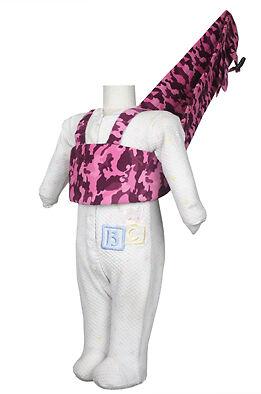 New Multi-use BabyTrooper Walker//walking harness Levender Camo