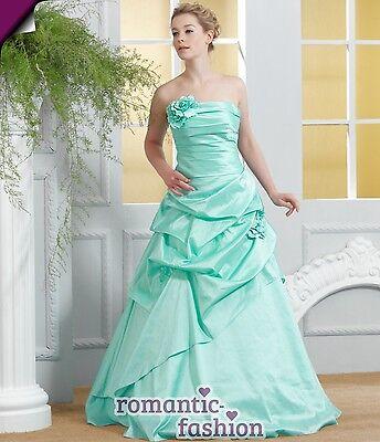♥Elegantes Abendkleid Ballkleid  Grün Größe 34 - 58 zur Auswahl+NEU+E115♥
