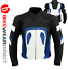 miniature 9 - Leather Motorbike Motorcycle Jacket With CE Armour Sports Racing Biker Thermal