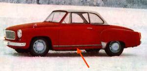 WartburgZierleisten Türleisten Satz für Wartburg 311 312 HT Coupe !!! NEU