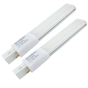 Details About 6w G23 2 Pin Pl Led Lamp 12w Plc Compact Fluorescent Down Light Bulb Replacement