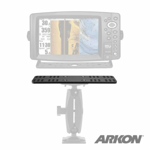 Arkon Marine Electronic Fishfinder Splitter Bar 2 Device Mounting Plate APEQUIP