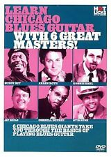 Hot Licks - Learn Chicago Blues Guitar With 6 Great Masters - Jazz & Blues DVD
