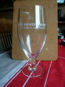 "GUINNESS "" THE BREWERS PROJECT "" PINT STEMMED GLASS ajCawVsi-09164303-657074291"