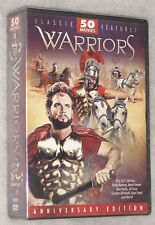 WARRIORS - 50 Movies Legendary Mythical Epic Heroes Thor Hercules DVD Box