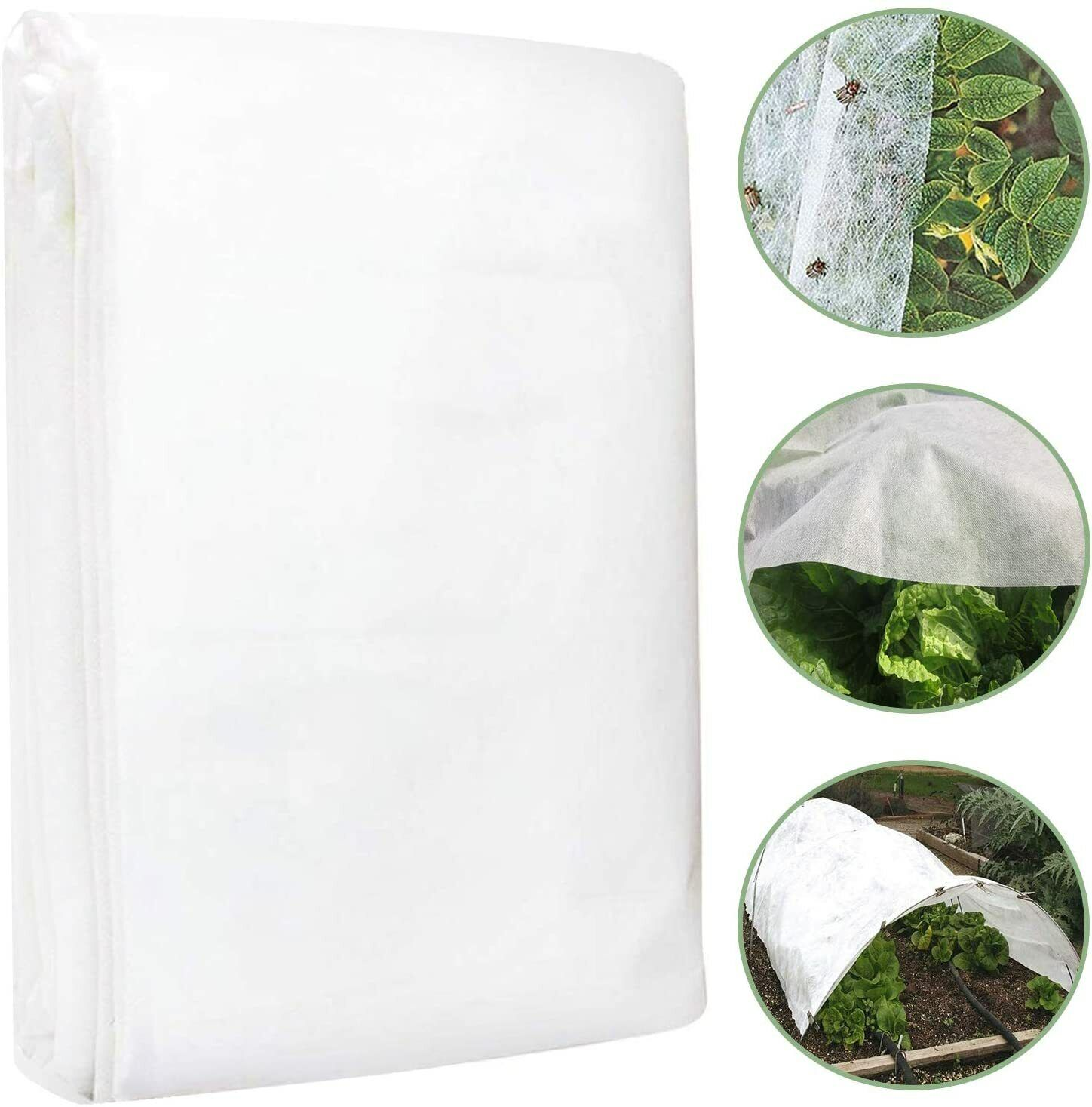 2m x 10m Heavy Duty Frost Fleece Plant Protection Garden Cover Horticultural UK