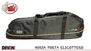 Borsa Sacca Imbottita Mikado Logo 400 Elicottero Elettrico Rc Radiocomandato Fbl