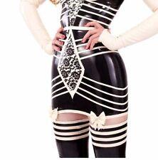 R1236 Elle Bordelle-L'Amour GIRDLE Latex Rubber Skirt Slight Seconds Size 14 UK