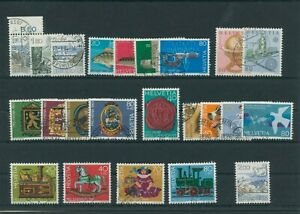 Suisse-Suisse-Vintage-Yearset-1983-Timbres-Used-Complet-Sh-Boutique