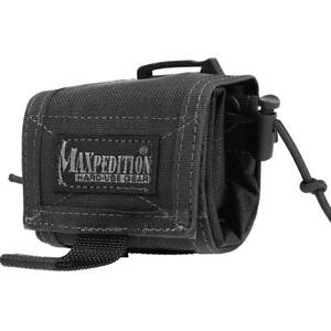 Maxpedition-Rollypoly-Folding-Dump-Pouch-Compact-Bag-Black-0208B