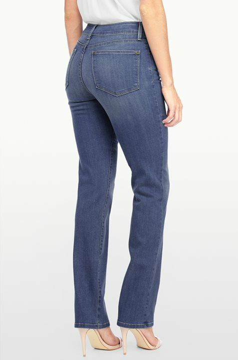 New NYDJ Not Your Daughters Jeans Marilyn Straight Upper Falls 6P 12P 14P