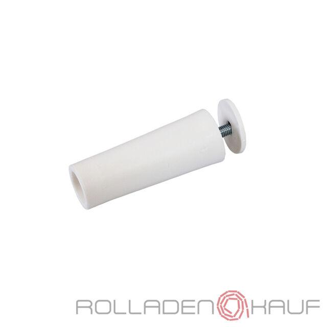 10x Rolladen Anschlag Stopper Puffer 60mm weiß Anschlagpuffer Anschlagstopper