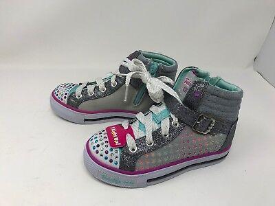 Girls Skechers (10778L) TWINKLE TOES SHUFFLES ROCKIN STARS Shoes 410d | eBay