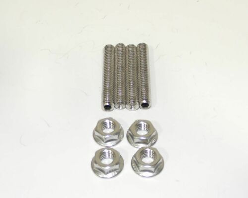 "Big Block Dodge Plymouth Mopar 2/"" Long Stainless Steel Carb Stud Kit  NEW"