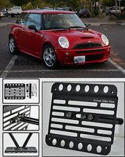 For 01-06 Mini Cooper S R53 MK1 Hatchback Front Tow Hook License Plate Bracket