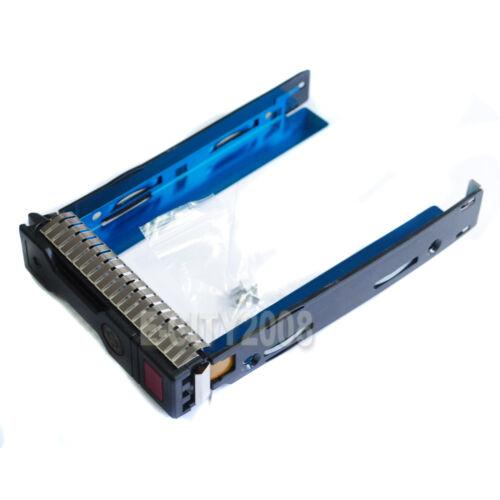 "3.5/"" SAS SATA SSD Hard Drive Tray Caddy HP Proliant ML310E Gen8 G8 //IC Chip @CN"