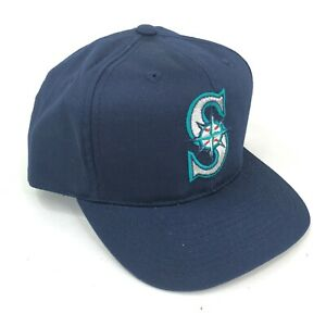 Vintage-Seattle-Mariners-Outdoor-Cap-Co-Snapback-Hat-Youth-Adult-Sizes-Blue-Logo