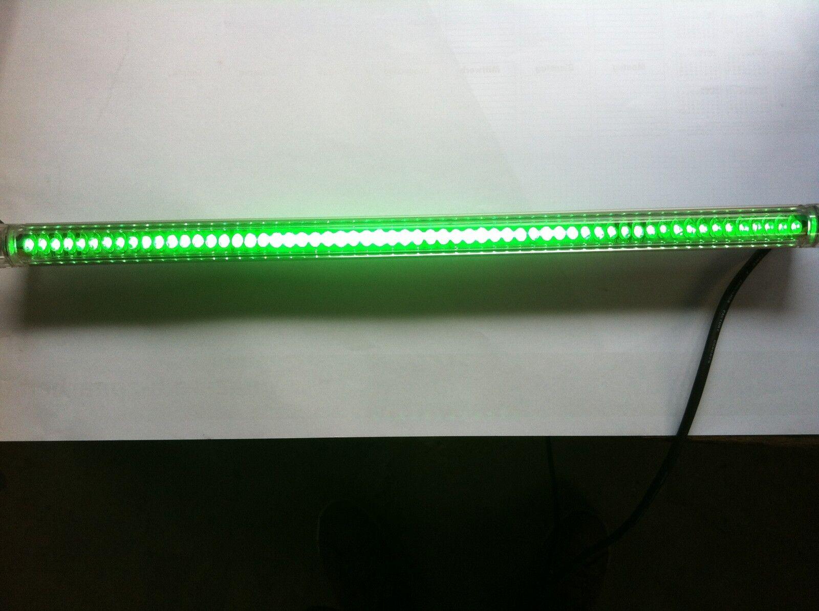 Aluminio LED barra de luz 50cm verde ip65 24v, iluminación