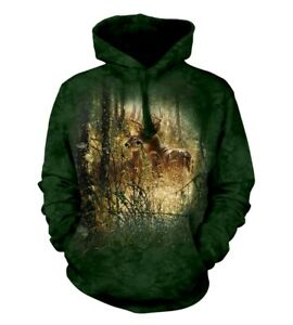Animal Hoodie Deer Moment Golden Adult The Unisex Mountain O0qwTY