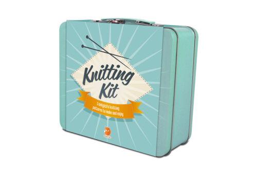Knitting Kit boîte cadeau 3 délicieux motifs pour faire et profitez de grand cadeau