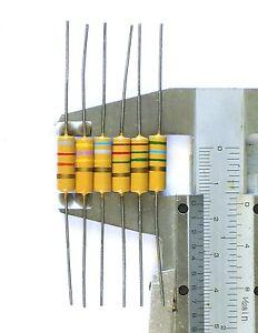 Details about 2 ISKRA 1W resistor 390R 1,5K 5,1K 18K 22K 27K 82K DUMBLE AMP  390 Ohm 1K5 5K1