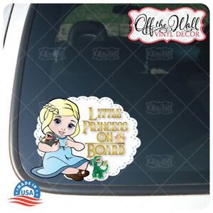 Baby-Daenerys-amp-Baby-Dragons-034-BABY-OR-LITTLE-PRINCESS-ON-BOARD-034-Awareness-Sign