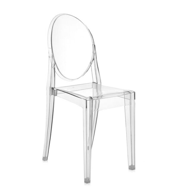 Kartell 1 Sedia Victoria Ghost trasparente by Philippe Starck ...