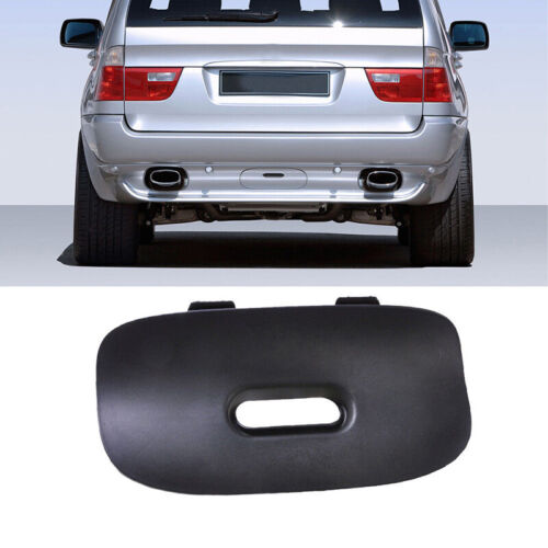 For BMW X5 E53 2000-2006 Rear Bumper Trailer Cover Flap Trailer Hitch Mount New