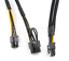 10-pins-to-6-8-pins-Power-Adapter-Cable-for-HP-DL380-G8-and-GPU-500MM thumbnail 2