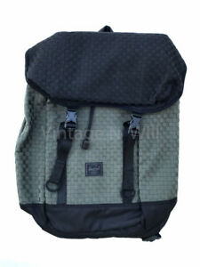 93ceb7ba56b6 Herschel Supply Co Woven Iona Army Olive Green  Black Colorblocked ...