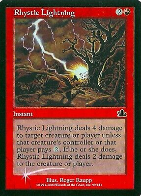 Rhystic Cave FOIL Prophecy NM Land Uncommon MAGIC THE GATHERING CARD