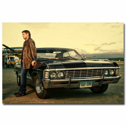H443 Art Supernatural Season TV Series Canvas Fabric Poster