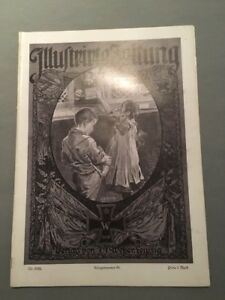 """Verlag J J 02.03.1916 83 SorgfäLtig AusgewäHlte Materialien Zielsetzung """"illustrirte Zeitung"""" Weber Kriegsnr"""