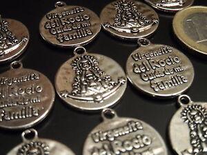 12 A 180 Ciondoli Medi Zamak Vergine Del Rocio,pendant,pendenti,anhänger Fine Quality Other Fashion Jewelry