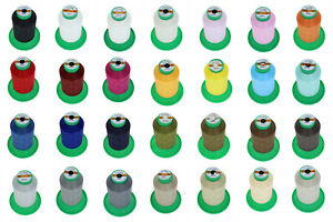 4-Rollen-Naehgarn-Overlockgarn-5000m-Staerke120-2-Kettelgarn-SERAFIL-Tytan-250