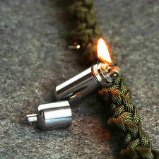 Mini Refillable Kerosene Cigarette Lighter Camping Survival Keyring Remarkable