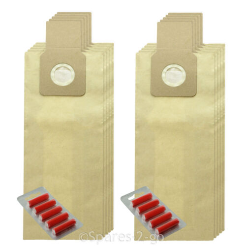 10 x Double Walled Thick Bags For SHARP EC-12S 30 EC-12S 50 Vacuum Cleaner Fresh