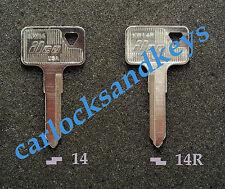 New Aftermarket 1987-2014 Kawasaki KLR 650 KLR650 Motorcycle Key Blank