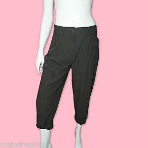 MORGAN-Pantalon-office-soiree-noir-habille-7-8-taille-38-M-neuf-avec-etiquettes